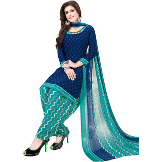 Women Shoppee's Unstiched Dress Material - Stylish Synthetics Returns