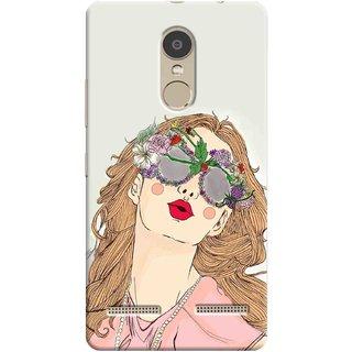 Digimate Printed Designer Hard Plastic Matte Mobile Back Case Cover For Lenovo K6 Power Design No. 1100