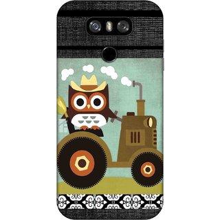 Digimate Printed Designer Hard Plastic Matte Mobile Back Case Cover For LG G6 Design No. 0141