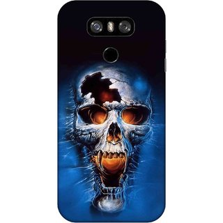Digimate Printed Designer Hard Plastic Matte Mobile Back Case Cover For LG G6 Design No. 0963