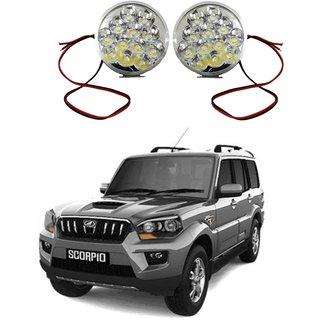 Trigcars Mahindra Scorpio LED Fog Lamp Unit for Tata Indigo  free bluetooth