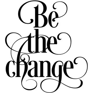 be the change Paper Poster  of 300 Gsm Thick Paper  12x18 Inch Without Frame by 5 Ace |Sticker Paper Poster, 12x18 Inch