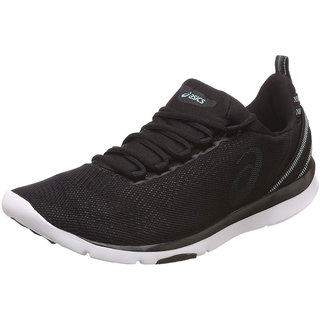 Asics Womens Black Gel-Fit Sana 3 S751N.9067 Sports Running Shoes