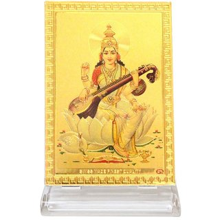 Ultimate Lord Saraswati Car Dashboard Idols for Car and Also for home Decor