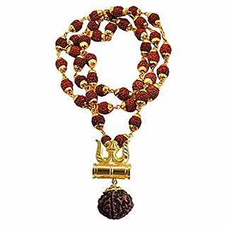only4you SHIV SHAKTI KAWACH PENDANT WITH RUDRAKSHA locket