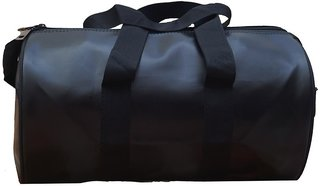 Proera Unisex 20 Litres Black Duffel/Gym/ Travelling Bag