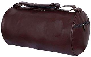 Proera Brown PU 20 Litres Gym Bag