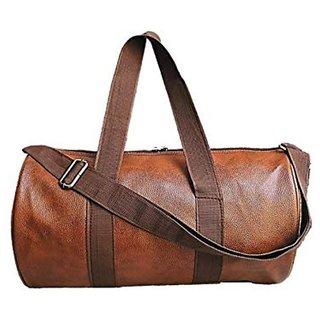 Proera Unisex 20 Litres Tan Duffel/Gym/ Travelling Bag