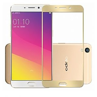 OPPO F3 PLUS Edge to Edge Full Front Body Cover Tempered Full Glass Screen Protector Guard for  OPPO F3