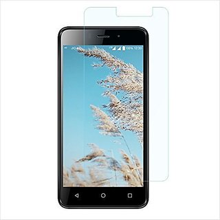For Reliance Lyf WIND 1 {Pack of 2} Screen Protector Tempered Glass Anti-Scratch Oil Coated Washable HD screen Guard