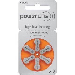 Powerone P13 1.45V Hearing Aid Batteries