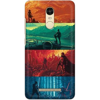 Ezellohub Back Cover For Redmi Note 3  War Hard Printed mobile Cover