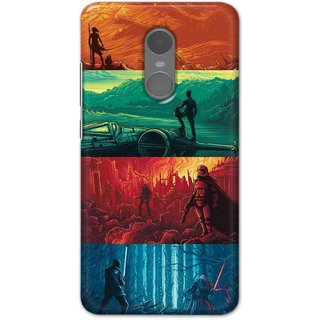 Ezellohub Back Cover For Redmi Note 4  War Hard Printed mobile Cover