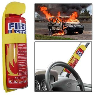Evergreen Fire Stop Extinguisher Spray for Car and Home