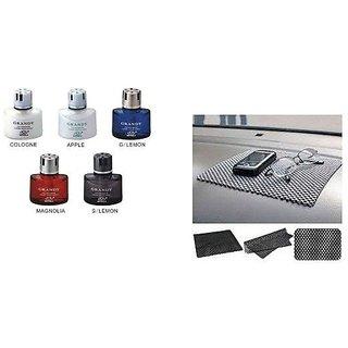 Combo Car Dashboard Non Slip mat + Grany Car Perfume