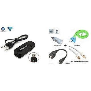 Combo for Car Bluetooth Device with OTG Combo