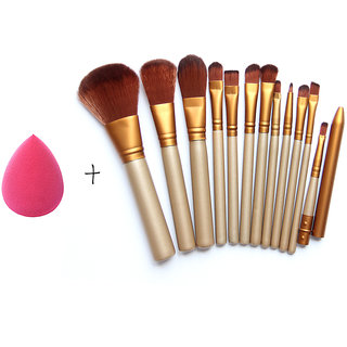 buy magideal makeup brushes set 12 eyebrow foundation