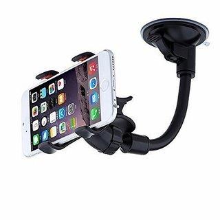 Adjustable Car Phone Windshield Cradle Mount Stand Holder For Smart Phone GPS