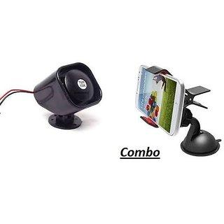 Combo for Car Mobile Holder with Tuk Tuk Horn