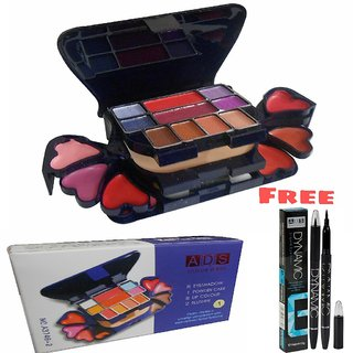 Ads Makeup Kit A3746-2 (22 g) With Ads Dynamic Liquid Eyeliner Pen Free