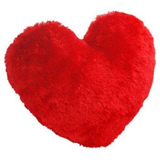 Shopy Heart Love Valentines Throw Cushion (Pack of 1)