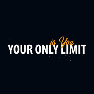 your only limit is you  new Paper Poster  of 300 Gsm Thick Paper  12x18 Inch Without Frame by 5 Ace