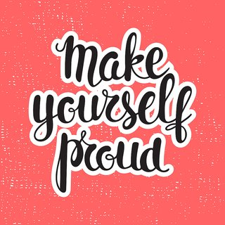 make your self proud new Paper   of Sticker Laminated Gloss Waterproof Paper 12x18 Inch Without Frame by 5 Ace