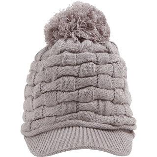 TAB91 Women's Woollen Designer Cap