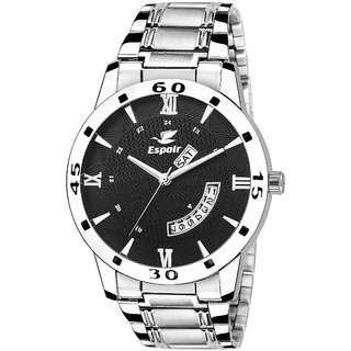 Espoir Analog Black Dial Day and Date Boy's and Men's Watch - LatestHammer0507