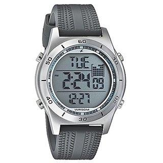 Fastrack Digital Grey Dial Mens Watch-38033SP03