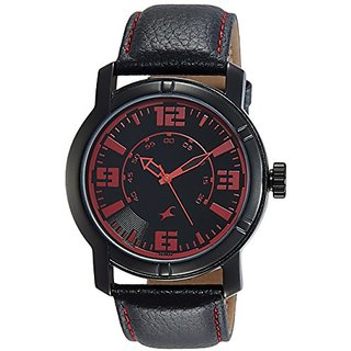 Fastrack Analog Black Dial Mens Watch-NG3021NL01C