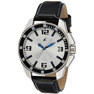 Fastrack White dial Mens Analog Watch (3084SL01)