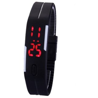 Iik Collection Rectangle Dial Black Analog Watch for Men