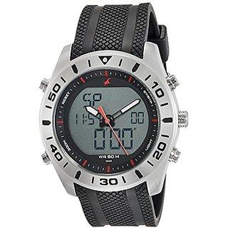 Fastrack Analog-Digital Grey Dial Mens Watch-38034SP03