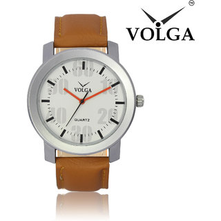 VOLGA 27 Sweep Movement and Water Resistant Analog Casual Watch For Mens and Boys
