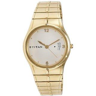 Titan Karishma Analog White Dial Mens Watch - ND9314YM01A