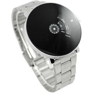 Paidu Round Dial Silver Metal Strap Watch For Men 6 month warranty