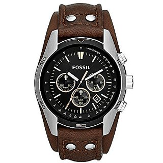 Fossil Chronograph Black Dial Mens Watch - CH2891