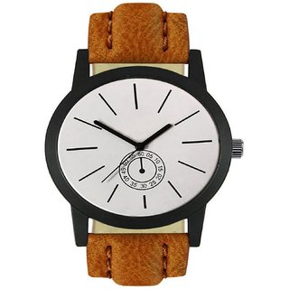 R P S fashion new looked to staylish lether strep men watch 6 month warranty