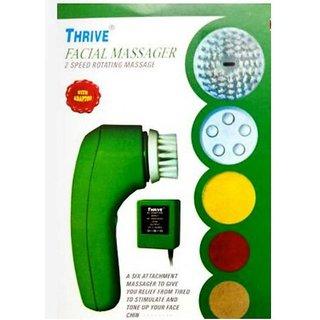Thrive FM6 Facial Massager (Green)