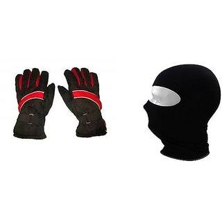 Combo Pro Liner Winter Gloves + Face Mask