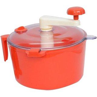 Plastic Detachable Dough Maker / Atta  Maker, Red