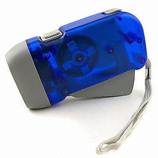Style Maniac Hand Pressing Flash Light - No Battery No Bulb, Simply Shake to Recharge