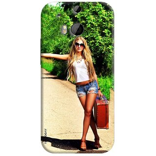 FABTODAY Back Cover for HTC One M8 - Design ID - 0165