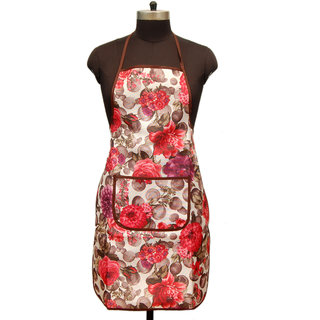 Winner Waterproof Multi-Color Kitchen Apron with Front Pocket Pack of 1 -Random Color Will Be Sent As Per Availability