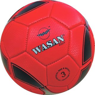 Wasan Kiddy Football Size 3 Red