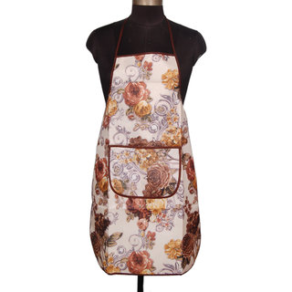 Winner Waterproof Multi-Color Kitchen Apron with Front Pocket Pack of 1- Random Color Will Be Sent As Per Availability