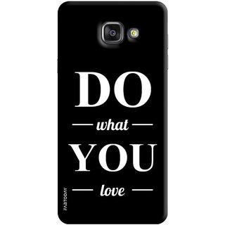 FABTODAY Back Cover for Samsung Galaxy A7 (2016) - Design ID - 0404
