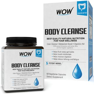 Wow Life Science Body Cleanse 60 Capsules