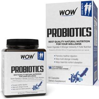 Wow Life Science Probiotics Capsules 60 Capsules